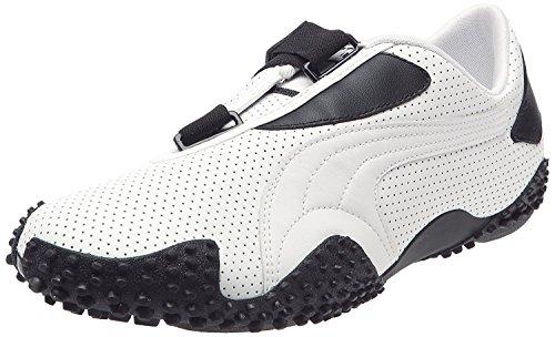 Leather Perf Puma Blanc Mostro Sneaker noir Herren PZ6nafEwxq