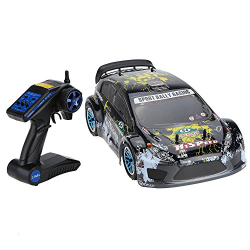 Goolsky HSP 94177 Nitro Powered Off-road Sport Rally Racing 1/10th Scale 4WD RC Car KUTIGER Body with 2.4Ghz 2CH Transmitter RTR -