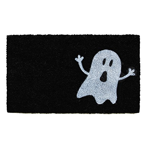 Calloway Mills Home & More 102001729 Ghost Doormat, 17 x 29, Black/White -