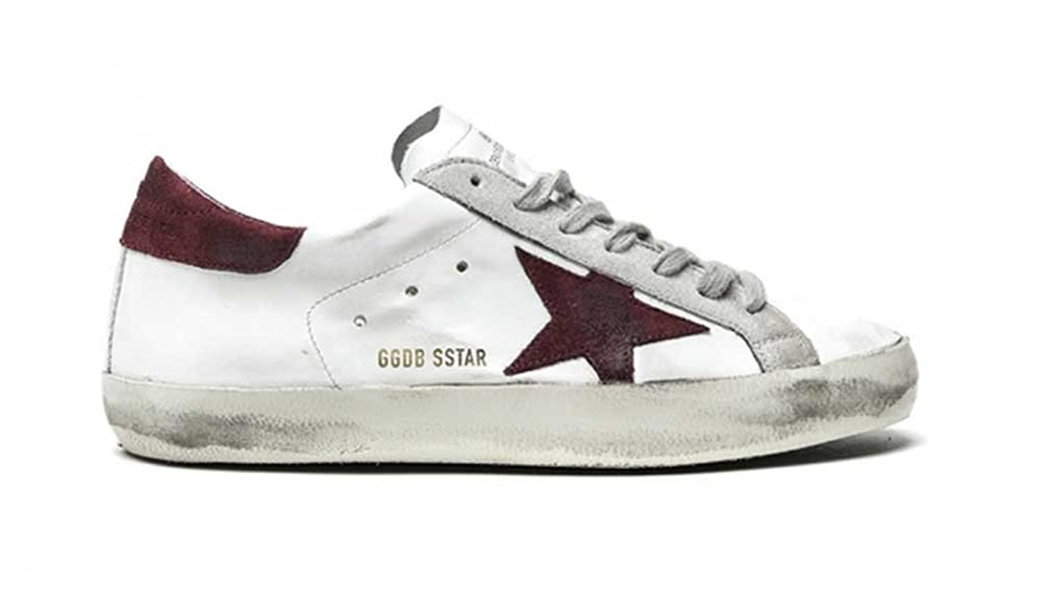 4d848caf Amazon.com | Golden Goose Deluxe Brand Mens Sneakers Superstar G29MS590F53  White/Purple (WHOOSSO) | Shoes