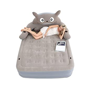 LTSWEET Encantador Totoro Colchón Hinchable Doble Cama ...