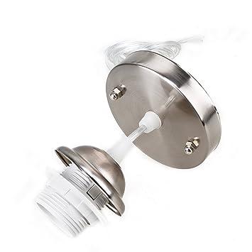 pendant lighting kit. e27 pendant light kit base lamp cover ceiling rose holder fitting lighting n