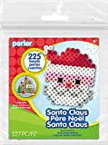 Perler Beads Santa Activity Kit with Pegboard (225 Count), 80-72232
