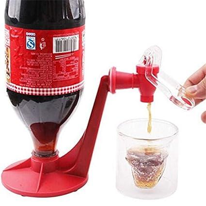 Botella de cocina portátil con dispensador de soda para frigorífico, congelador y congelador