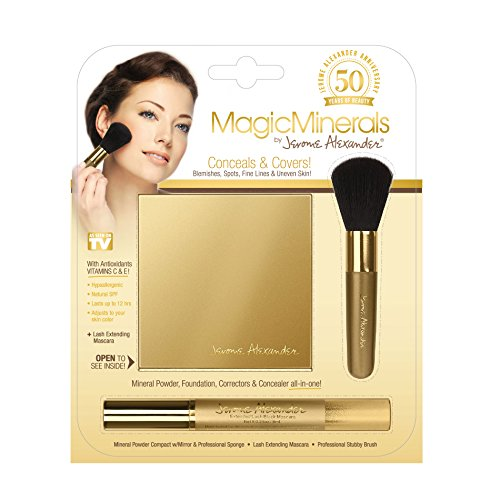 Magicminerals By Jerome Alexander 3pc Kit Mineral Powder