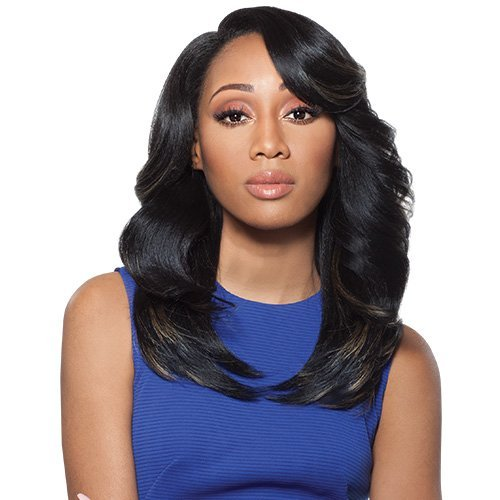 Outre Quick Weave Complete Cap - Outre Synthetic Hair Full Cap Quick Weave Complete Cap Brenda (1B)