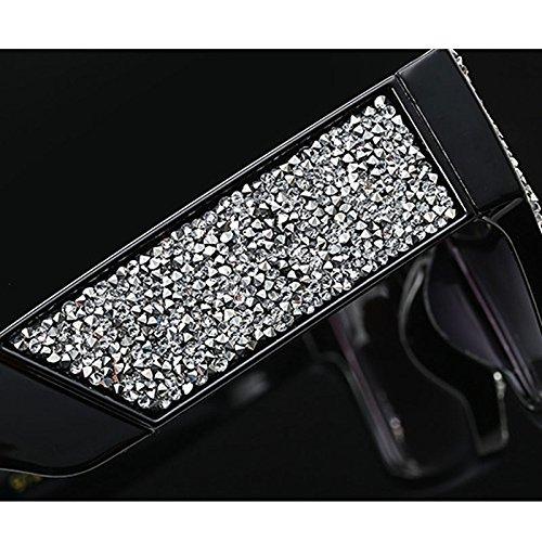 grande Rhinestone C4 Marco Sunglasses Cool Tide lujo de wadAqdtf