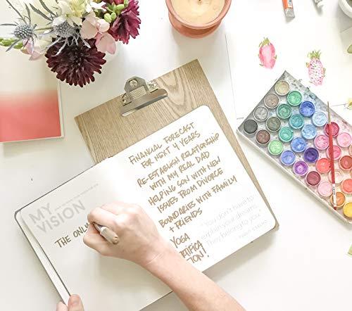 2019 Make Shit Happen Planner - Black + Confetti Foil Cover, Goal Setting Planner and Journal by Meraki Printing (Image #3)