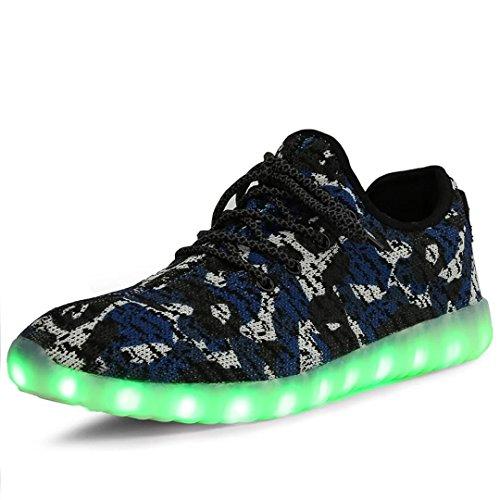 Joansam Luminous Sneakers Charging Colorful