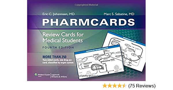 Pharmcards Review Cards For Medical Students Pdf