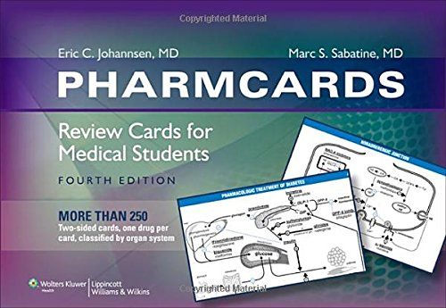 PharmCards: Review Cards for Medical Students (Best Pharmacology Flash Cards Step 1)