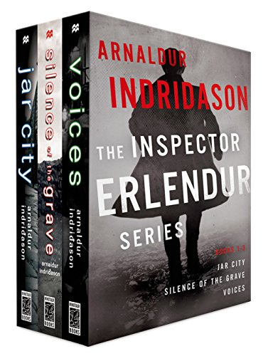 The Inspector Erlendur Series, Books 1-3: Jar City, Silence of the Grave, Voices (An Inspector Erlendur Series)