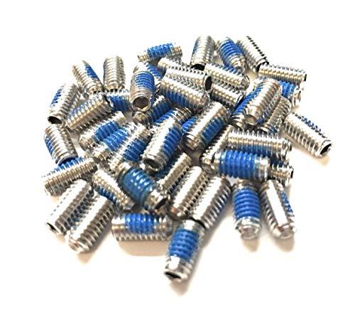 TwistedSpoke Flat Pedal Pin Upgrade Kit, Stainless Steel, 50Pins (8)