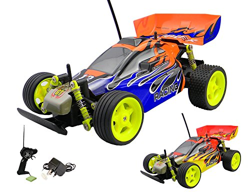Playtech Logic RC Racing Buggy / Truggy Car - PL9127 1/16 2WD RC Radio Controlled Off Road RC Car - RTR, Electric, Rechargeable 40/27Mhz
