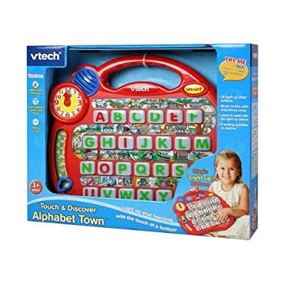 Touch & Discover Alphabet Town: Toys & Games