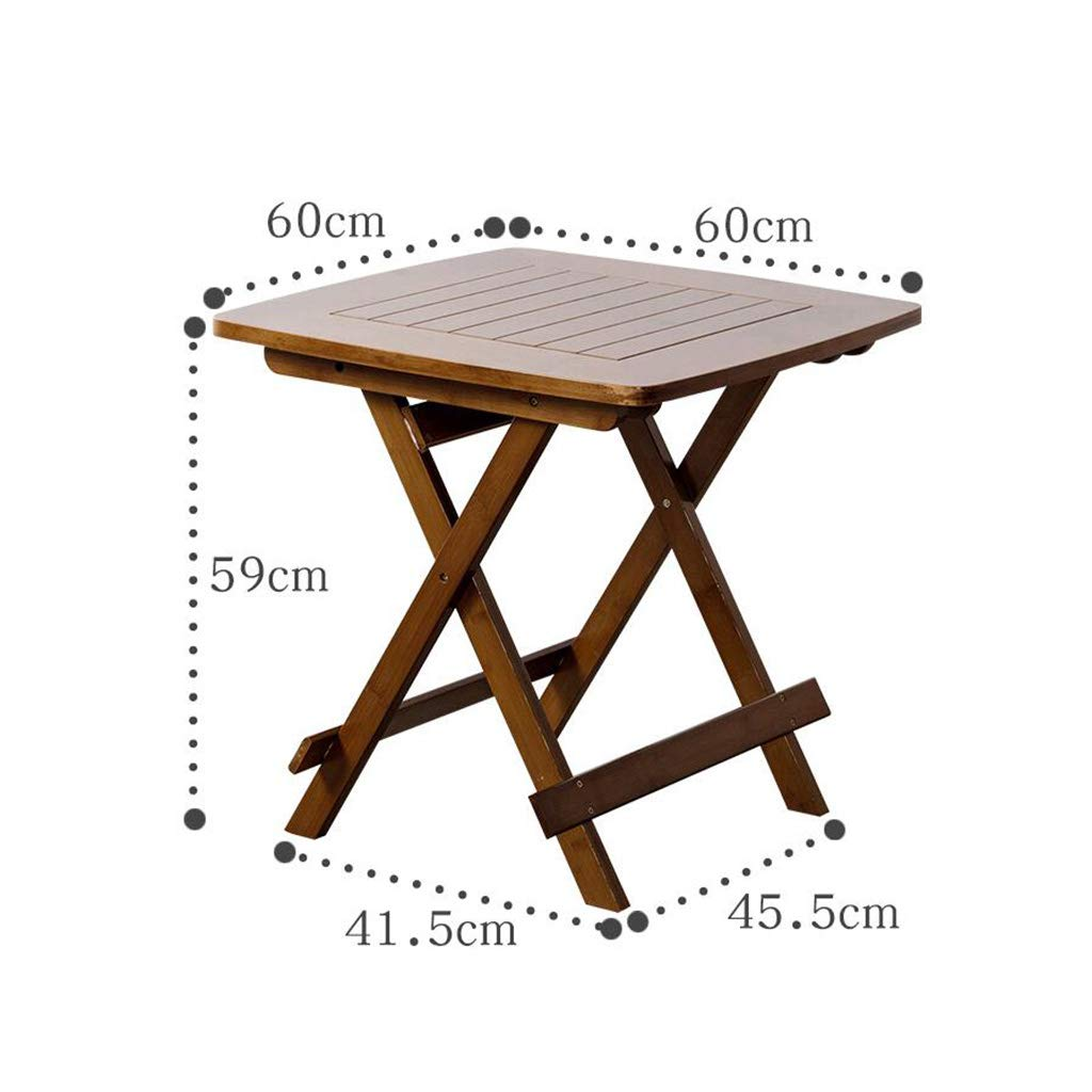 Amazon com : QZ HOME Folding Table Small Dining Table Bistro Table