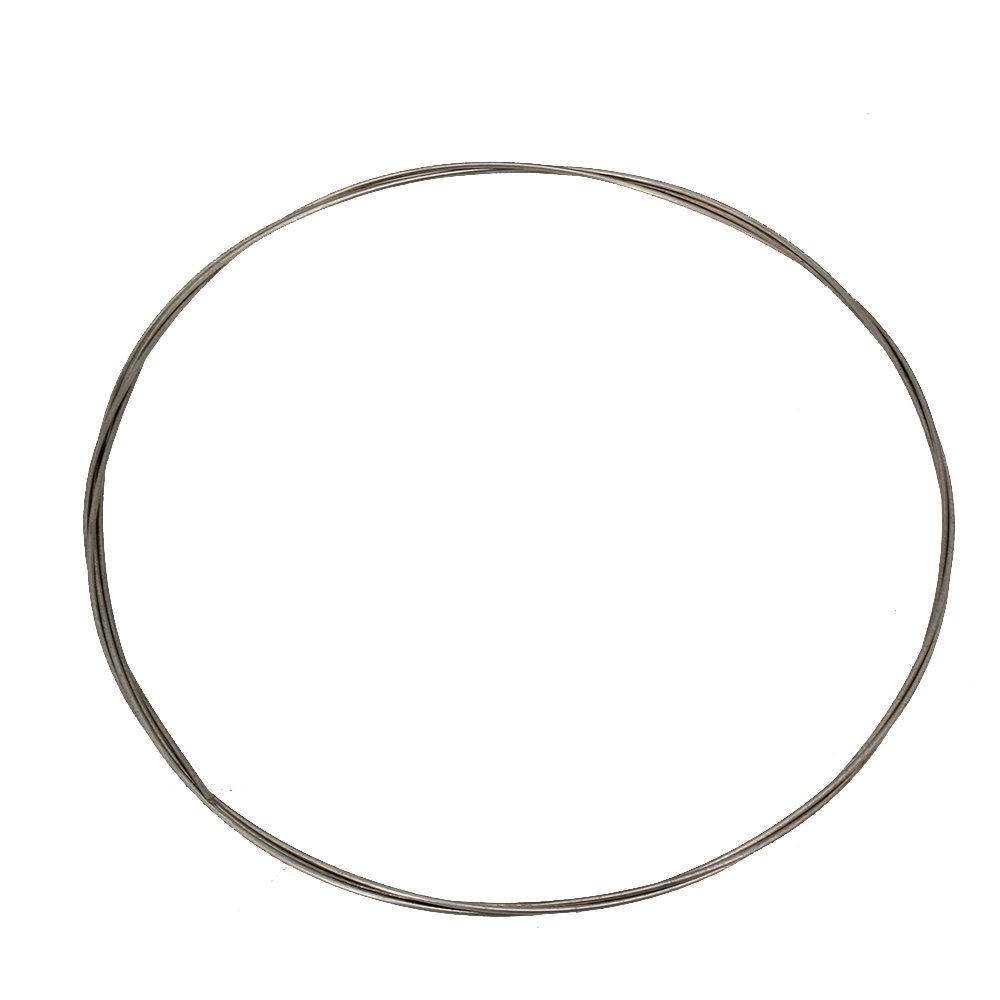 Yibuy 1m 13# Silver Color Piano Music Wire Musical Instruments Accessories and Parts for Replacement of Broken Strings etfshop Yibuy10