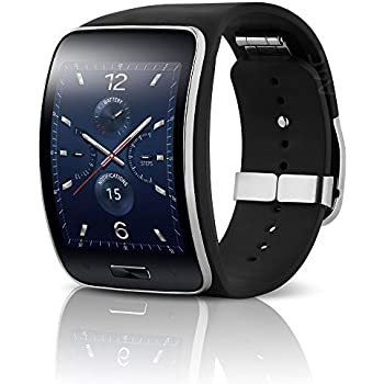 Samsung Galaxy Gear S R750V Smart Watch w/ Curved Super AMOLED Display - Verizon (CDMA) - Black