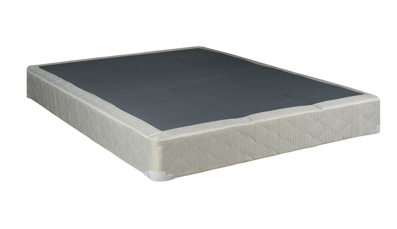 Mattress Solution, 8'' Assembled Box Spring for Mattress, Twin Size, Classic Collection