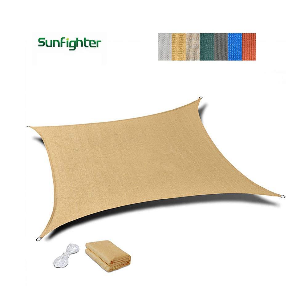 シェードネット、日除け、日焼け止めメッシュ、キャノピーテント生地タープセイル、UV耐性保護に適してプライバシー、複数のサイズ、ベージュ (サイズ さいず : 3x4m) 3x4m  B07KJ26LCH