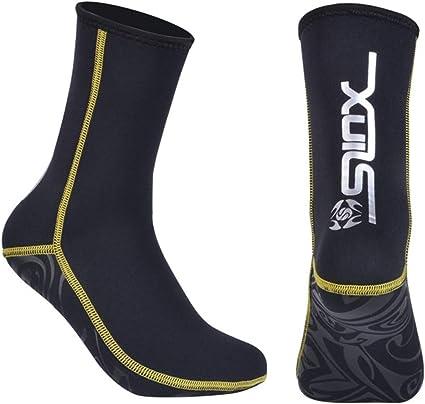 Zeraty Men Women Diving Socks 3mm Neoprene Anti Slip Beach Water Socks for Snorkeling Fishing Water Sports Swimming