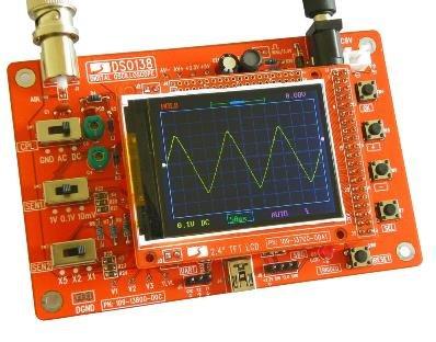 elinke DSO138 Digital Oscilloscope DIY Kit DIY Parts for Oscilloscope Making Electronic diagnostic-tool Learning osciloscopio Set 1Msps
