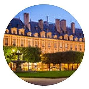 alfombrilla de ratón Place des Vosges, París - ronda - 20cm
