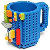Skyzonal® 2016 DIY Building-on bricks mug Lego Style coffee cup my building blocks water bottle tea cup christmas gifts