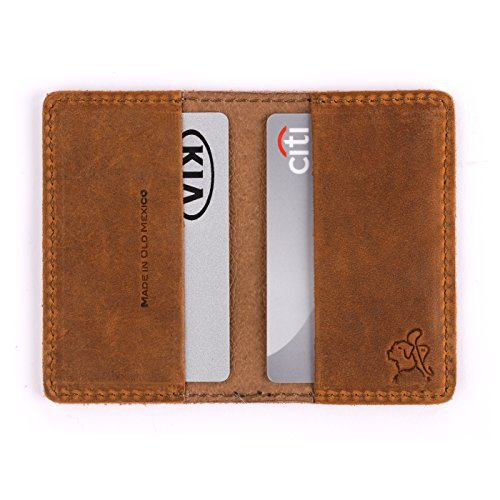 Saddleback Leather Co. Slim Multi Business Card Holder Full Grain Leather Wallet for Men and Women Includes 100 Year Warranty (Minimum Age For Credit Card In Usa)