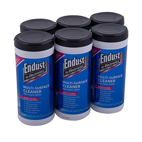 Endust LCD and Plasma Monitor Cleaner Pop-Up Wipes 70 ct - 6 Pack (11506P6) (Endust Electronics compare prices)
