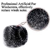 Professional Microphone Furry Windscreen Muff