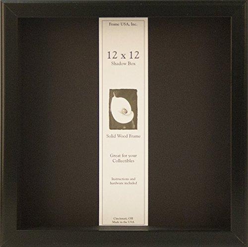 12x12 Shadow Box Wood Frame 2 1/8