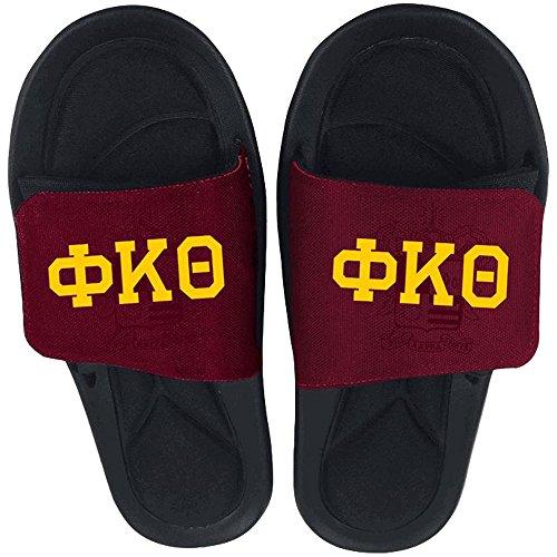 Express Design Groep Phi Kappa Theta Dia Veelkleurig Op Sandalen