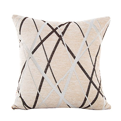 GOVOW Home Decorations for Living Room Modern Spandex Pillow Sofa Waist Throw Cushion Cover Cushion