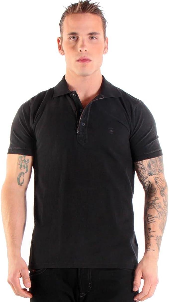 Diesel - Camiseta - para Hombre Negro Negro Medium: Amazon.es ...