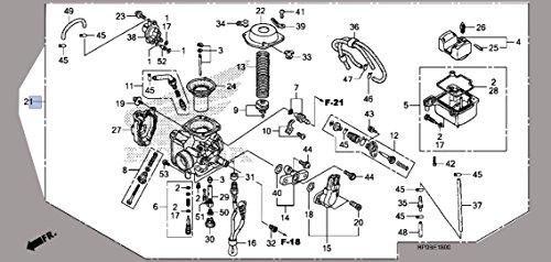 2006 honda foreman 500 carburetor - 8