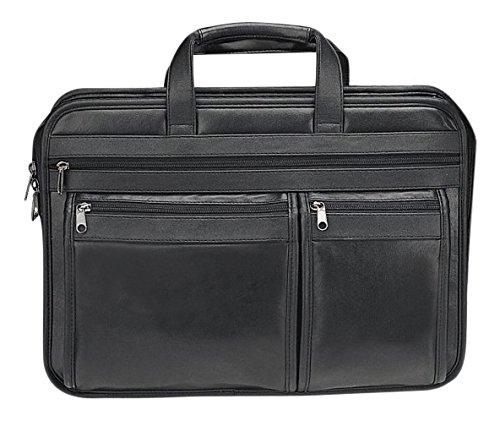 Goodhope Bags Bellino Front-Zip Soft Brief/Compucase ()