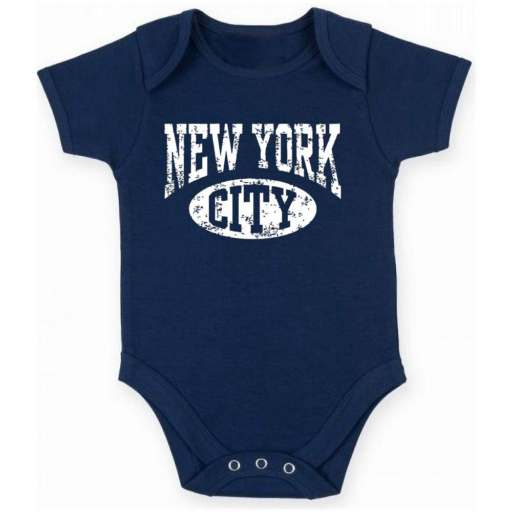 T-Shirtshock Body Bebe Bleu Navy DEC0501 New York City