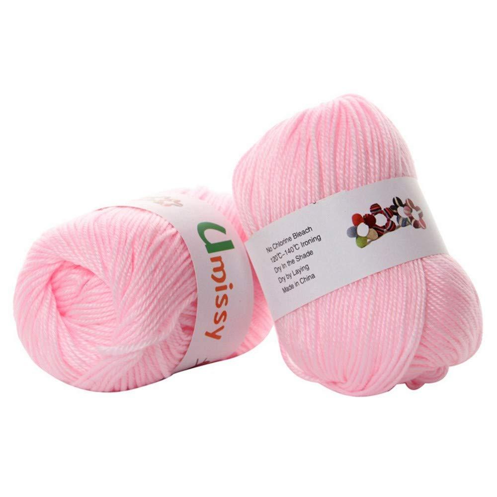 TDPYT 10 Crocheted Yarn Blended Silk Yarn Soft And Environmentally Friendly Yarn 500G