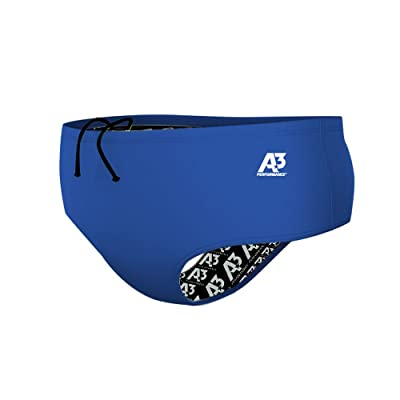 A3 Performance Male Lycra Brief - Royal