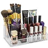 Compra Sorbus® Acrylic Cosmetics Makeup and Jewelry Storage Case Display Top-Glamorous, Space- Saving, Stylish Acrylic Bathroom Organizer (Top Style 1) en Usame
