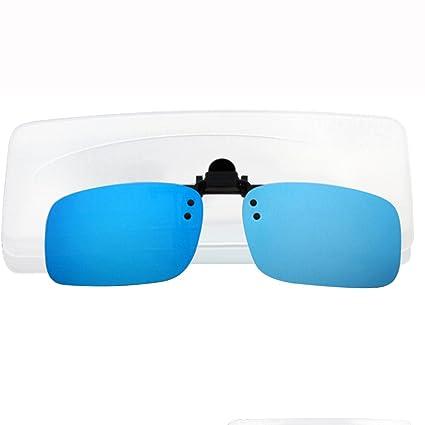tininna Unisex UV400 Clip gafas de sol Clip-on polarizado ...