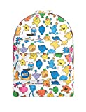 Mi-Pac x Mr Men Gold Backpack - Characters Multi