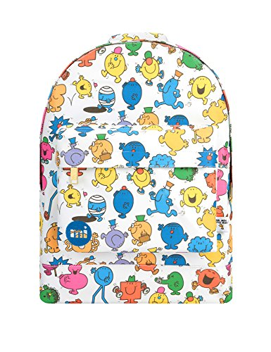 Mi-Pac x Mr Men Gold Backpack - Characters Multi by Mi Pac