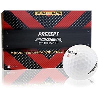 Precept Power Drive Golf Balls - 15 Pack