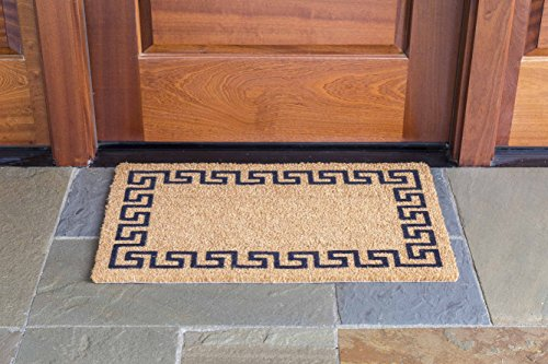 DeCoir Greek Key Coir Doormat product image