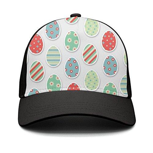 funny Easter Eggs-01 Unisex Adjustable navy baseball cap Cla
