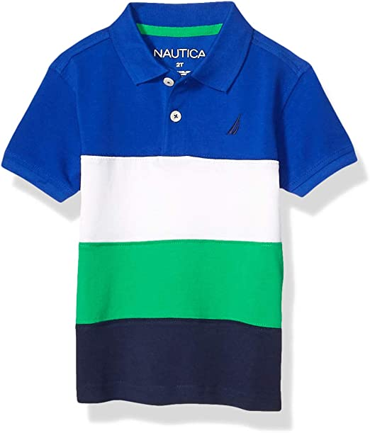 Nautica Boys Colorblock Polo: Amazon.es: Ropa y accesorios
