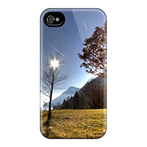 Iphone High Quality Tpu Case/ Outsting Valley Lscape Hdr VFcFyfH3670RVYSF Case Cover For Iphone 4/4s by Maris's Diary