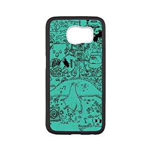 Samsung Galaxy S6 Cell Phone Case Black FANTASTIC MESS SP4149895